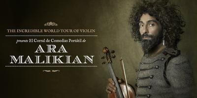 Ara Malikian en Badajoz - The Incredible World Tour Of Violin