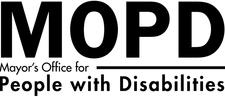 Mayor's Office for People with Disabilities (MOPD) logo