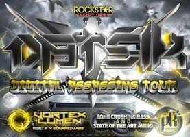 Datsik - Digital Assassins Tour - Chico, CA