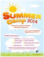 Karate Summer Camp 2014