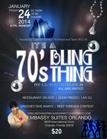It's a 70's Bling Thing, TLFJ Pre-launch celebration