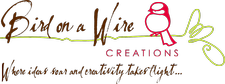 Bird on a Wire Creations logo