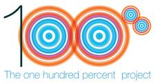 The 100% Project logo