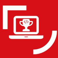 Queen's Computing Champions logo