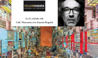 Café/Rencontre avec l'artiste Laurent Dequick