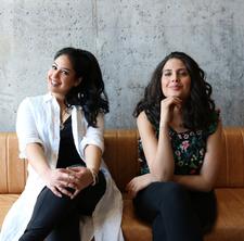 Kavita Ajwani & Diana Eskander of THE BREAKDOWN  logo