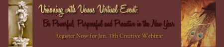 Visioning with Venus Virtual Event: Be Powerful...