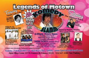 """""""EARTH WIND & FIRE"""" TRIBUTE at LEGENDS OF MOTOWN..."""