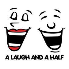 A Laugh And A Half logo