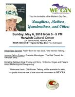 WE CAN~You Are Invited to a Pre-Mother's Day Tea at...
