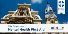 MHFA City Employee Training logo