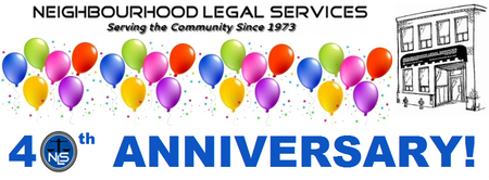 Neighbourhood Legal Services 40th Anniversary...