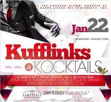 Kufflinks & Kocktails™@ Saint Genevieve