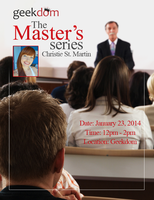 The Master's Series: Christie St. Martin