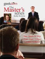 The Master's Series: Kathy Kersten