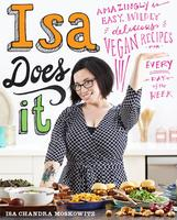 Book signing with vegan chef and author, Isa Chandra...