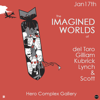 LOS ANGELES ART SHOW - IMAGINED WORLDS - JAN 17 to FEB...