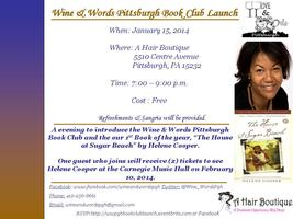 Wine & Words Pittsburgh Book Club Launch