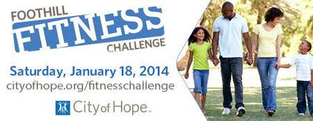 CANCELLED - City of Hope - Foothill Fitness Challenge...