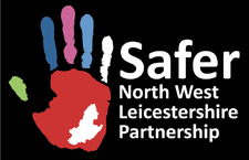 Safer North West Leicestershire Partnership.  logo