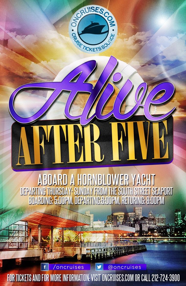 Alive After Five Saturday Happy Hour Cruise