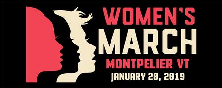 Women's March Montpelier VT 2019