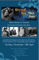 Mary Jenson, Beyond Standard Jazz