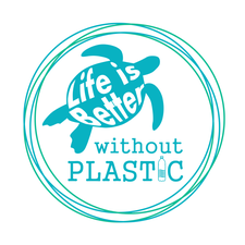 Life is Better Without Plastic logo