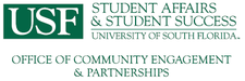 USF Office of Community Engagement and Partnerships logo