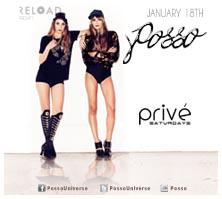 PRIVÉ Saturdays Presents ::  POSSO  :: Saturday...