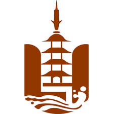 上海龍華古寺  Shanghai Longhua Temple logo