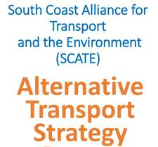 South Coast Alliance for Transport and the Environment (SCATE) logo