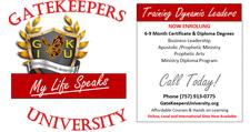 Gatekeepers University  logo