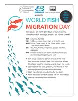 World Fish Migration Day / Earth Day - Tour the new...