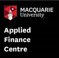 Macquarie Applied Finance Centre logo