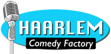 Haarlem Comedy Factory, hosted by New York Deli logo