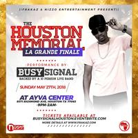 Busy Signal Houston Live Concert Sun May 27th 2018