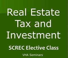 Greenville RE Tax & Investment PM ELECTIVE Tuesday,...