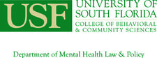Department of Mental Health Law & Policy at the University of South Florida logo