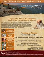 Yoga and Meditation - Inner Engineering and FREE...