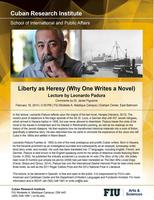 """Liberty as Heresy (Why One Writes a Novel),"" a..."