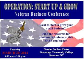 Operation: Start-Up and Grow--Veterans Business...