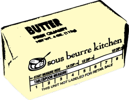 Sous Beurre Kitchen 5 Course Dinner 1/24/14