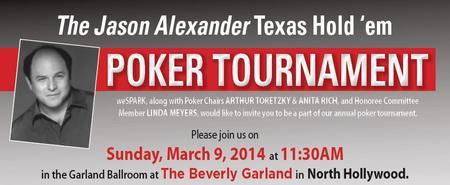 2014 Jason Alexander Texas Hold 'em Poker Tournament