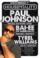 HOUSEPITALITY feat. PAUL JOHNSON (Peace Frog, Relief,...