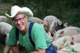 Joel Salatin from Polyface Farms presenting  Securing O...