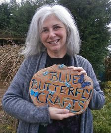 Marion Walsh - Blue Butterfly Crafts logo