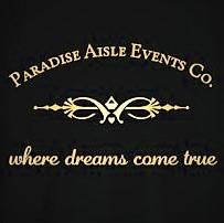 Paradise Aisle Events collaboration with One2capture logo