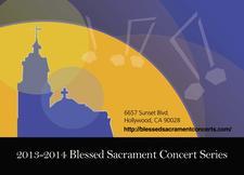 Blessed Sacrament Concert Series logo