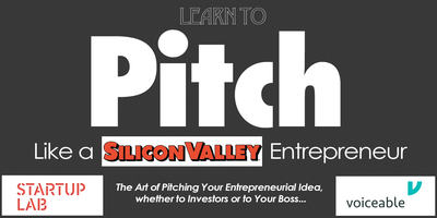 Learn To PITCH Like A Silicon Valley Entrepreneur Tickets Multiple - Silicon valley car show coupons